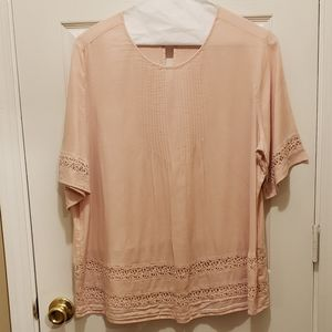PEACH OLD NAVY TOP